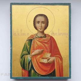 Икона Святой Великомученик и целитель Пантелеимон. Афон