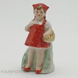 """Статуэтка """"Красная шапочка"""". Песочное"""