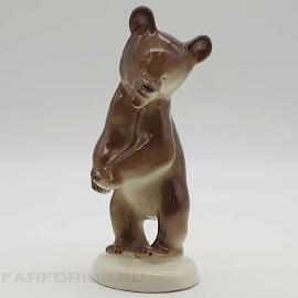 "Статуэтка ""Бурый медведь"". ЛФЗ"