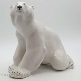"Статуэтка ""Белый медведь"". ЛФЗ"