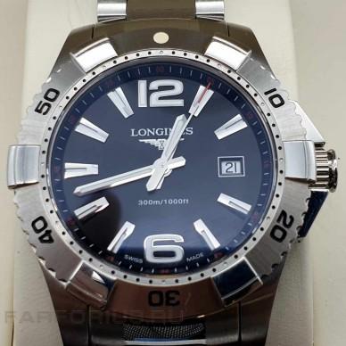 Швейцарские кварцевые часы Longines Hydro Conquest l3.647. 4.